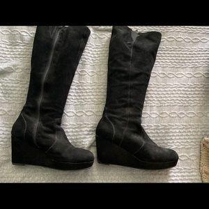 Steve Madden Ashley Wedge boot size 11 black